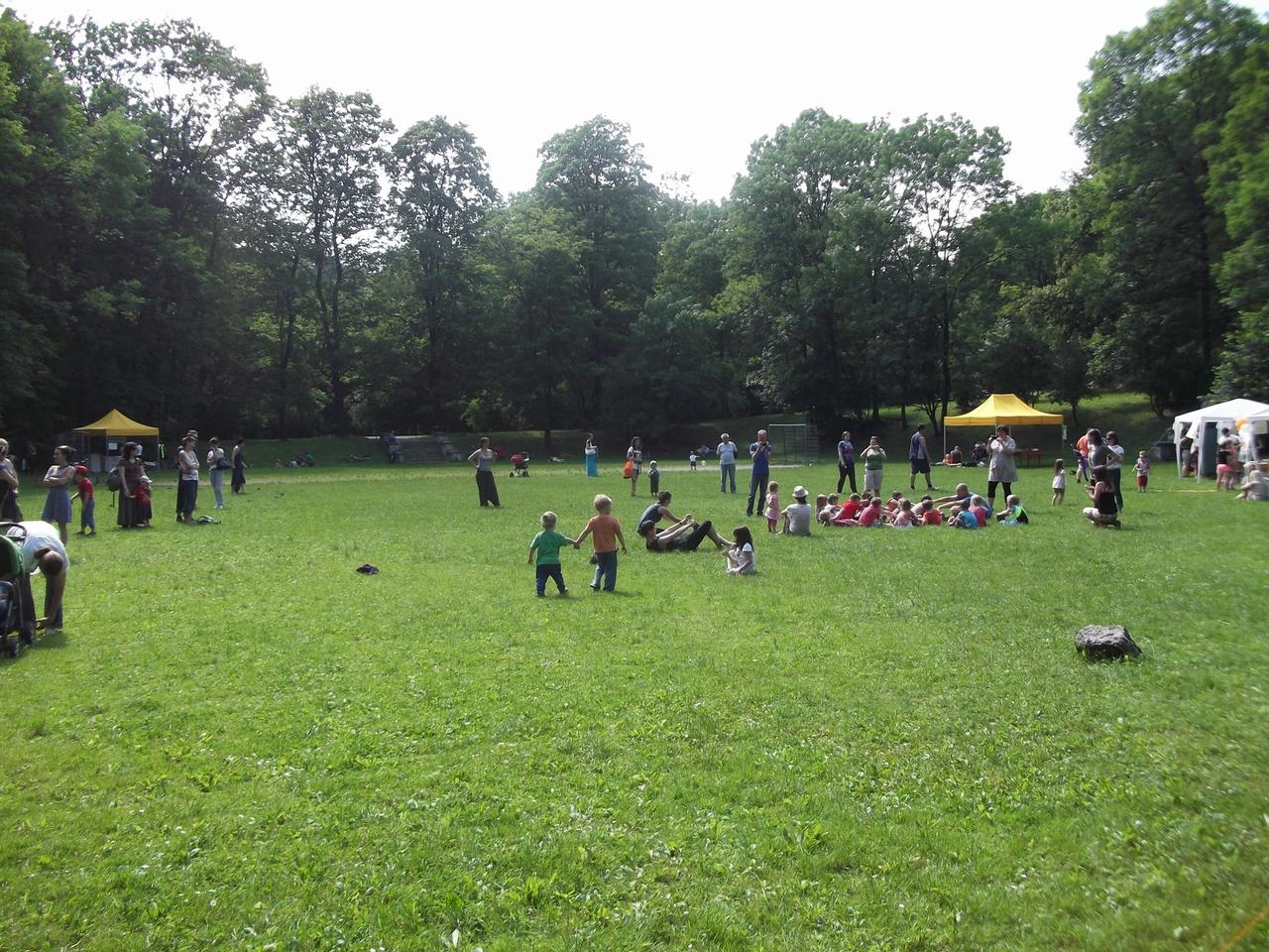 ParkuJeMyEko - joga dla dzieci, zabawa