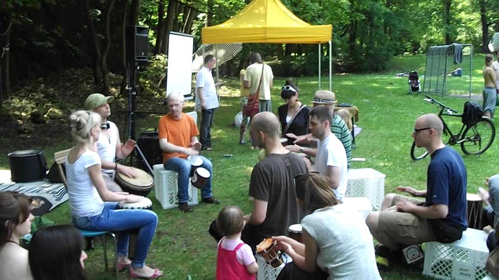 ParkuJeMyeko - warsztaty bebiarskie by Domino Drummer